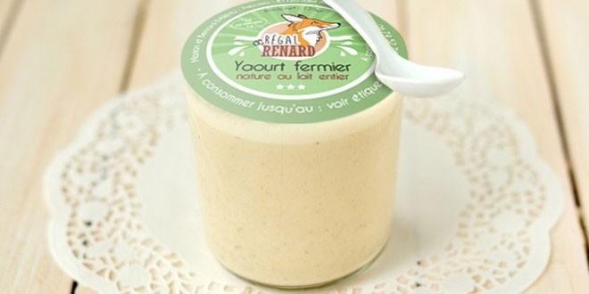 identite visuelle packaging etiquette yaourt graphisme