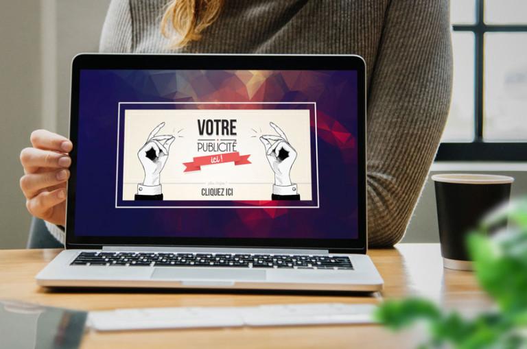 realisation d'illustration pour site internet banniere web slider pub