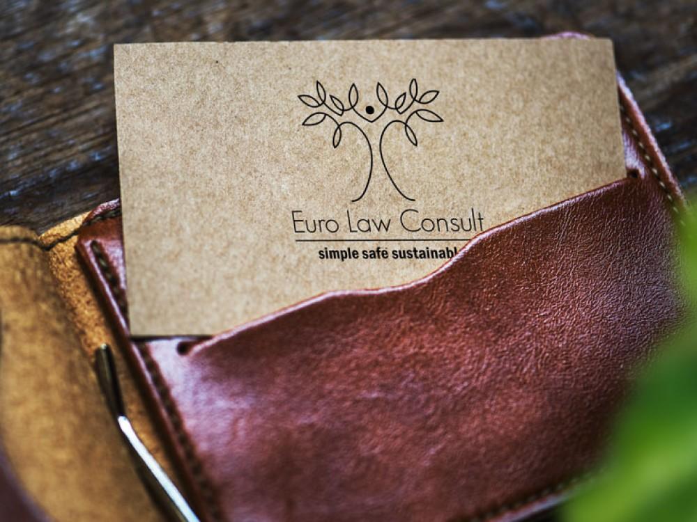 logo carte de visite eco arbre loi