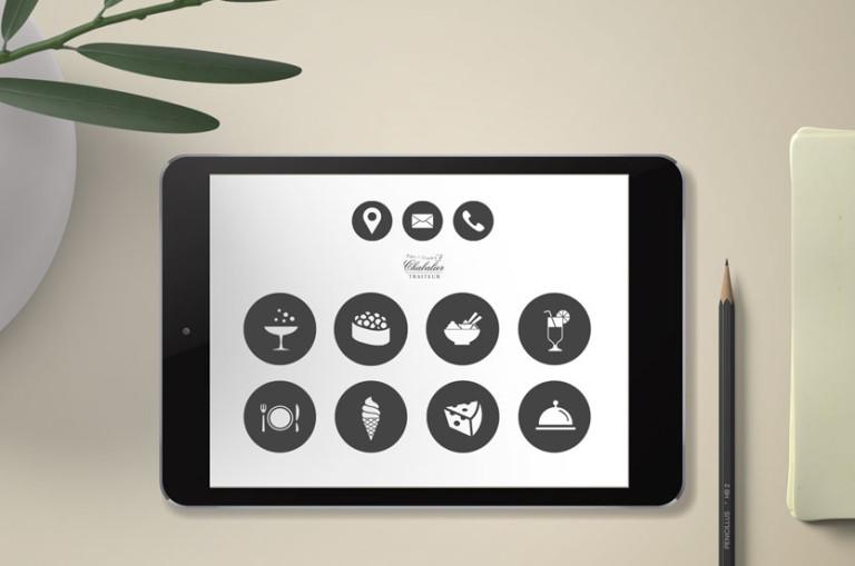 icones personnalises dessin vectoriel web